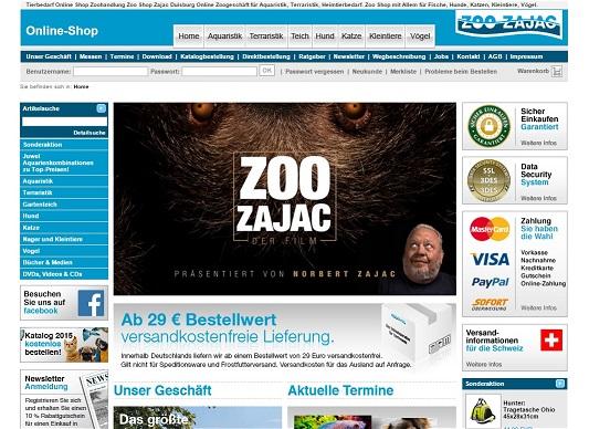 Zoo Zajac Katalog