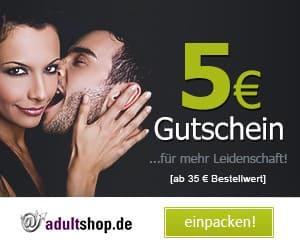 5 Euro geschenkt bei AdultShop.de