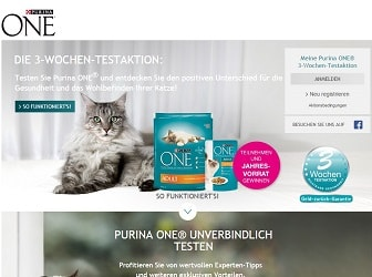 Purina One Testaktion