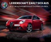 Alfa Romeo: Probefahrt GRATIS