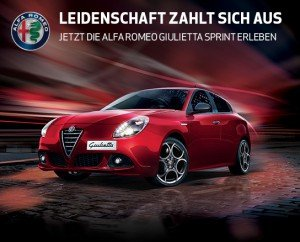 Alfa Romeo Probefahrt