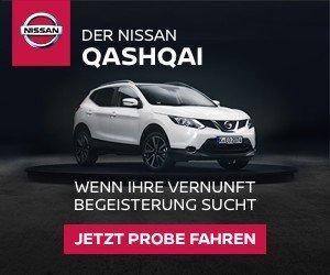 Nissan Qashqai Probefahrt