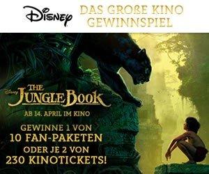 Disney Dschungelbuch Gewinnspiel