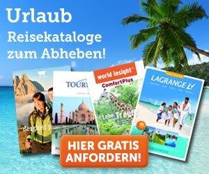 Urlaubskataloge gratis bestellen