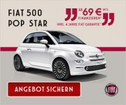 FIAT 500 Probefahrt gratis