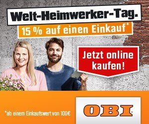 OBI Welt-Heimwerker-Tag
