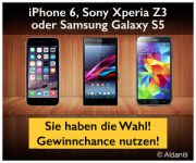 Smartphone Gewinnspiel