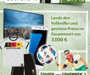 Das große COUPONS4U-Gewinnspiel zur Fußball-EM