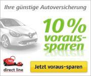 direct line: 10% voraus-sparen