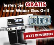 Produkttester Weber Gasgrill gesucht