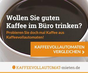 Kaffee-Vollautomat kostenfrei
