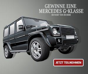 Mercedes G-Klasse Gewinnspiel