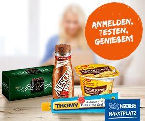 Nestlé Produkttester