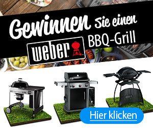 Weber Grill Gewinnspiel