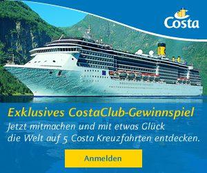 CostaClub Gewinnspiel