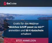 Kreuzfahrt-Webinar kostenlos