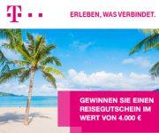 Telekom Reise Gewinnspiel