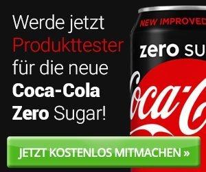 COCA COLA Produkttest