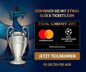 Hotels.com Champions League Gewinnspiel