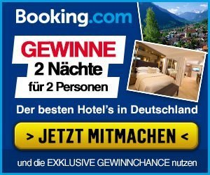 Booking.com Gewinnspiel