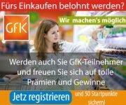 GfK: Tolle Prämien und Gewinne