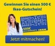 IKEA Gewinnspiel
