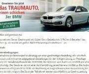 BADER: 3er BMW Gewinnspiel
