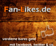 Geld verdienen mit Fan-Likes.de