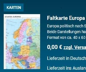 Faltkarte Europa Von Bundeszentrale Für Politische Bildung Kostenlos