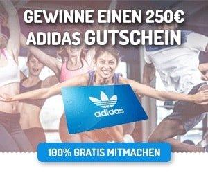 Adidas Gutschein Gewinnspiel