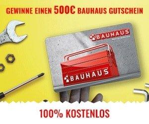 Bauhaus Gutschein Gewinnspiel