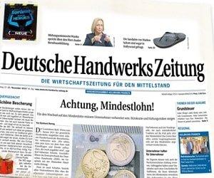 Deutsche Handwerks Zeitung kostenlos