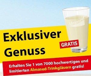 Almased Trinkglas gratis