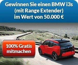 BMW i3s Gewinnspiel