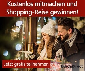 Burda Shopping Reise Gewinnspiel