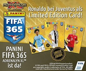 PANINI FIFA 365 Stickerkollektion
