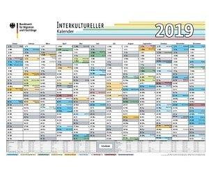 Interkultureller Kalender 2019 GRATIS