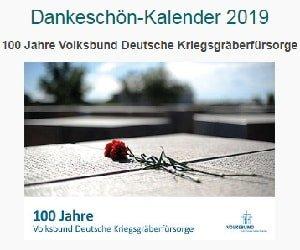 Volksbund Dankeschön-Kalender