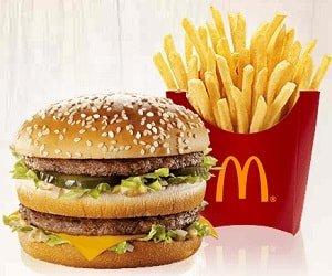 McDonalds Paket Gewinnspiel