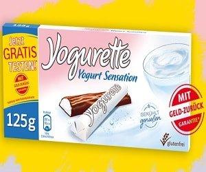 Yogurette gratis testen