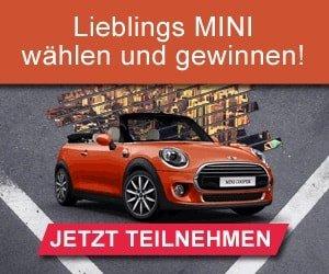 Mini Cabrio Gewinnspiel