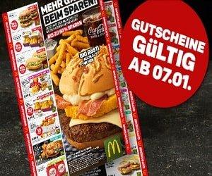 McDonalds Gutscheine
