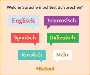 Babbel-Sprachkurs kostenlos