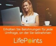LifePoints: Produkttests & Umfragen