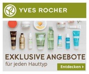 Yves Rocher Gratis-Katalog plus Kosmetikprobe