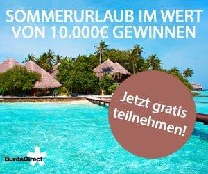 Burda Sommerreise-Gewinnspiel