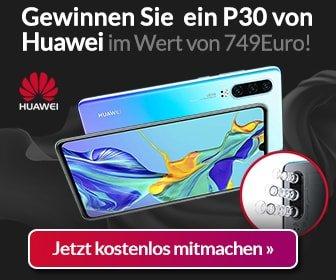 Huawei P30 Gewinnspiel