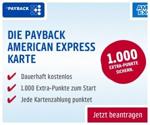 PAYBACK American Express Card
