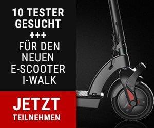 E-Roller testen