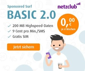 netzclub SIM-Karte GRATIS